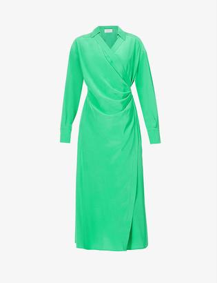 Sportmax Guelfo silk midi dress