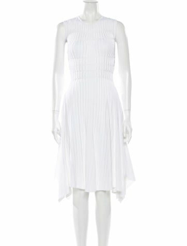 Narciso Rodriguez 2018 Midi Length Dress w/ Tags White