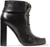 Tom Ford Fringed leather ankle boots