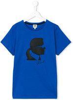 Karl Lagerfeld logo print T-shirt - kids - Cotton - 14 yrs