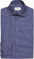 Eton Spot-print contemporary-fit cotton shirt