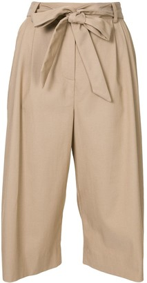 By Any Other Name Pleated Knee-Length Trousers