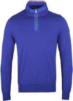 Paul & Shark Dark Blue Quarter Zip Sweatshirt