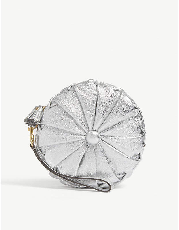 Anya Hindmarch Pillow textured leather clutch