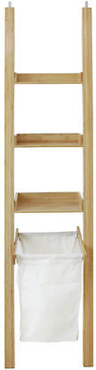 Laundry by Shelli Segal Argos Home Large Bamboo Ladder Shelf with Laundry Bag