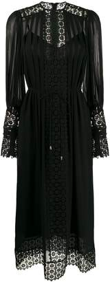 Zimmermann lace panel dress