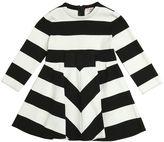 Il Gufo Striped Milano Jersey Dress