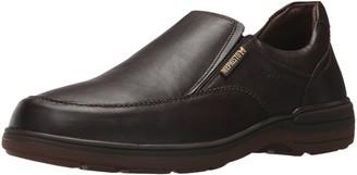 Mephisto Men's Davy Slip On Shoes Dark Brown Leather 8 M US