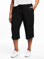 Old Navy Mid-Rise Plus-Size Soft Culottes