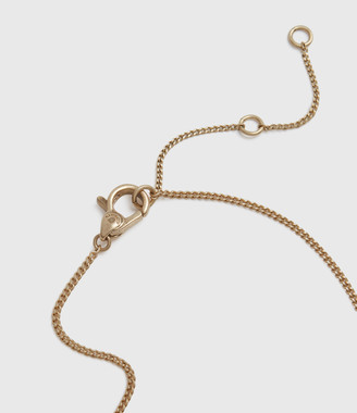 AllSaints Pearldrop Gold-Tone Fresh Water Pearl Necklace