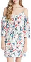 Fifteen-Twenty Fifteen Twenty Floral Cold Shoulder Dress