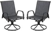 Sonoma Goods For Life SONOMA Goods for Life Patio Swivel Chair 2-piece Set