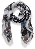 The Two Mrs Grenvilles Large square Bird scarf