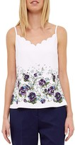 Ted Baker Entangled Enchantment Scalloped Camisole Top