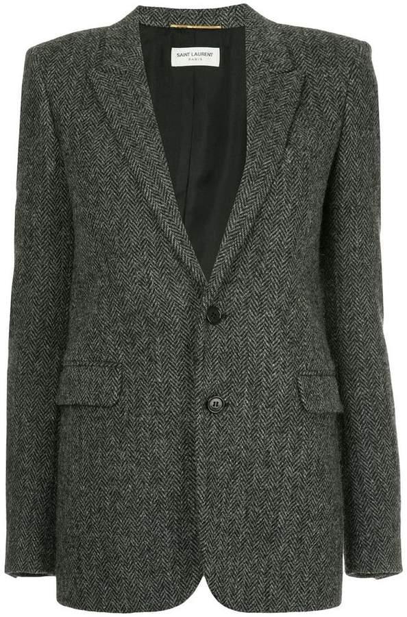 Saint Laurent single breasted blazer