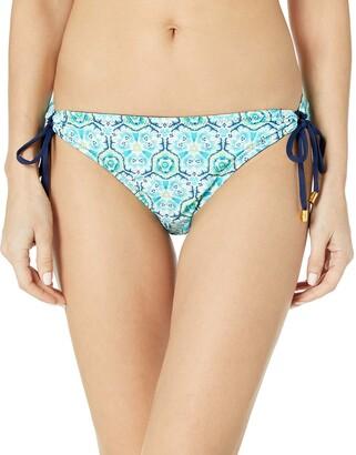 Helen Jon Women's Lanikai Reversible Tunnel Hipster Bikini Bottom
