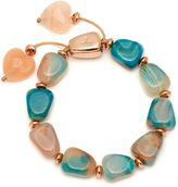 Lola Rose Robin bracelet tie dye agate mix