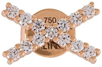 Alinka 18kt gold KATIA diamond stud earrings