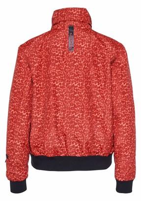 Chiemsee Women's im angesagten Blouson-Schnitt und All-Over-Print Jacket