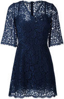 Dolce & Gabbana lace dress - women - Silk/Cotton/Polyamide/Viscose - 46