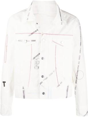 Kanghyuk Printed Shirt Jacket
