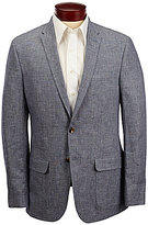Murano Slim-Fit Solid Linen Blazer