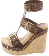 Alexander McQueen Stud Embellished Platform Sandals
