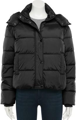 Sebby Juniors' Hooded Short Puffer Jacket