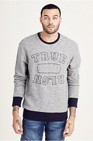 True Religion Embroidered Crewneck Mens Pullover