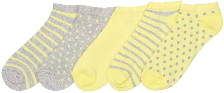 6ab6093e1bfa8 COLLECTIONS Pack of 5 Pairs of Trainer Socks, Sizes 6-8
