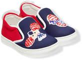 Fendi patch slip-on sneakers