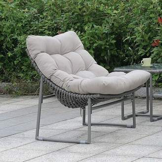 Bronx Ashmore Patio Chair with Cushions Ivy