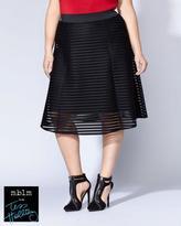 Penningtons Tess Holliday - Flared Mesh Skirt
