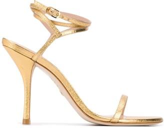 Stuart Weitzman Merinda metallic sandals