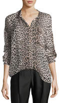 Giada Forte Savage Vanity Silk Oversized Shirt