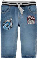 Dolce & Gabbana Boy regular fit fleece jeans