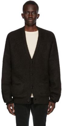 Remi Relief Black Alpaca Natural Cardigan