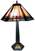 Warehouse Of Tiffany Mission-StyleTable Lamp