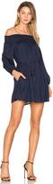 Line & Dot Desi Off the Shoulder Dress
