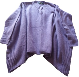 Polo Ralph Lauren Purple Wool Knitwear for Women