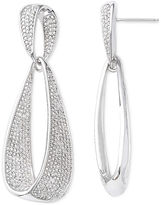 ADDICTION FINE JEWELRY Diamond 1/10 CT. T.W. Diamond Dangle Drop Earrings