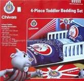 Chivas USA 4 Pc Toddler Bedding Set