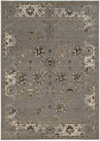 "Kenneth Mink Closeout! Spectrum Mod Isfahan Grey 5'3"" x 7'6"" Area Rug"