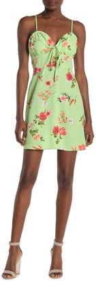 Blu Pepper Floral Print Mini Dress