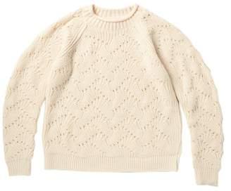 Elodie K Pointelle Sweater (Big Girls)