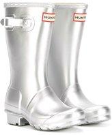 Hunter shinny rain boots - kids - other fibers/rubber - 12 Kids