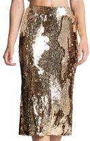 Dress the Population Sasha Sequin Midi Skirt