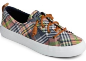 Sperry Crest Vibe Washed Plaid Sneaker Women's Shoes