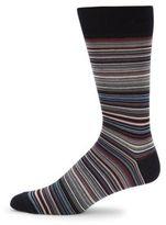Saks Fifth Avenue Striped Cotton-Blend Socks