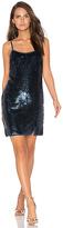 NBD Perla Mini Dress in Blue. - size M (also in S,XS)
